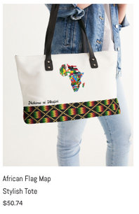 African Flag Map Stylish Tote.png
