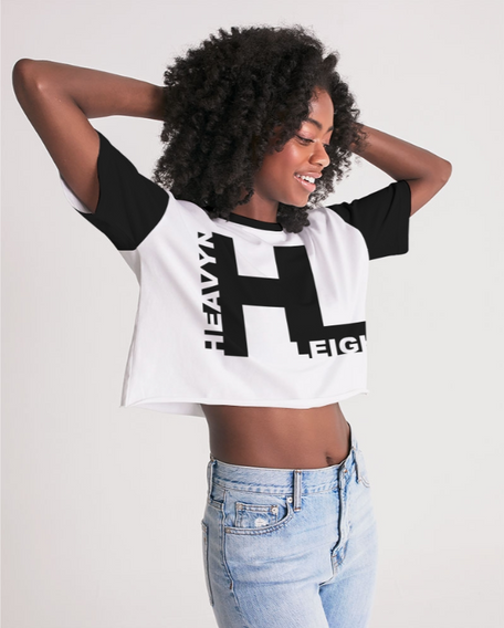 Heavyn Leigh Lounge Cropped Tee