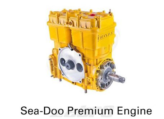 Sea-Doo Premium Engine 587 Yellow SP /GT /SPI /XP 1988 1989 1990 1991