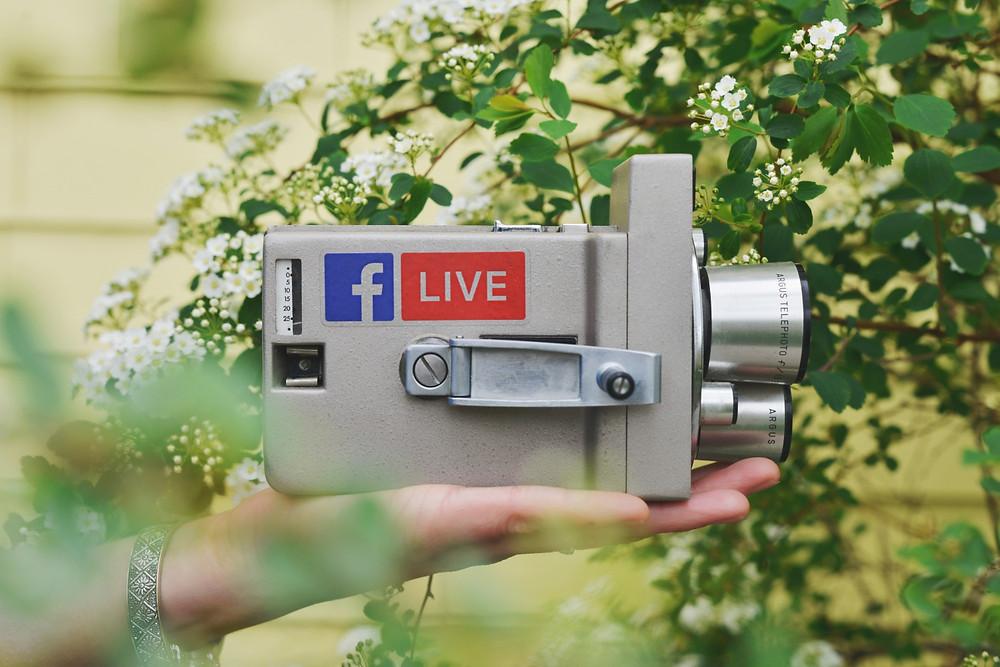 Facebook Live Video Kamera