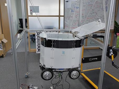 NASA 서 본 기술로 배달로봇 만들었더니…현대차에서 전화가 왔다
