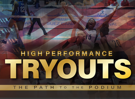 USA Volleyball High Performance Tryout