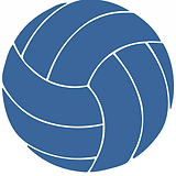 Seal Beach Volleyball Club blue volleyball.png