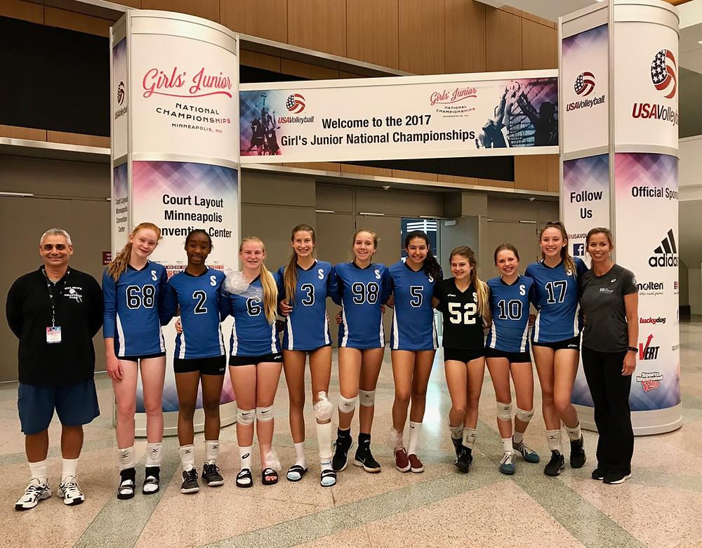 Seal beach volleyball 14-Tony Girls Indoor Volleyball