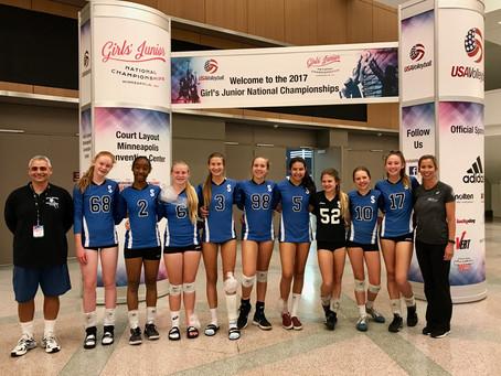 2017 Jr. National Girls Indoor Volleyball