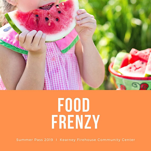 Summer Pass: Tuesday, July 23: Food Frenzy