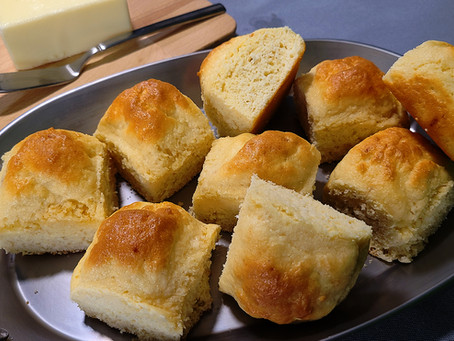 Keto Dinner Roll Recipe (No Almond Flour)