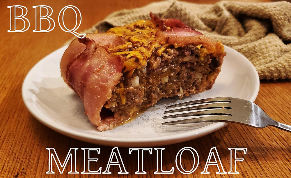 Keto BBQ Bacon Cheddar Meatloaf Recipe