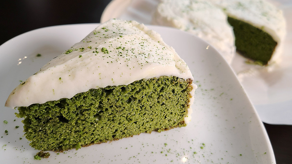 Keto Matcha Cake With lemon Buttercream Recipe