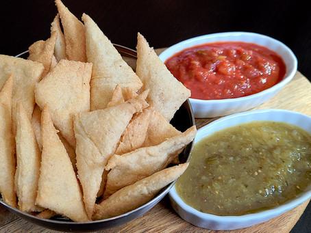 Keto Pita/Tortilla Chip Recipe