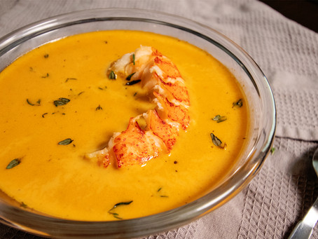 Keto Lobster Bisque Recipe