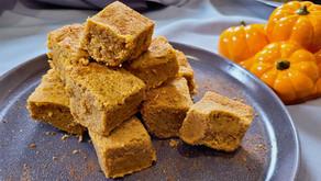 Keto Pumpkin Spice Blondie Recipe