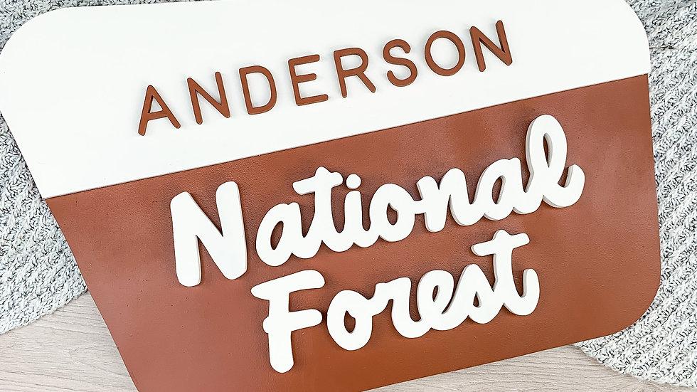 National Forest Design