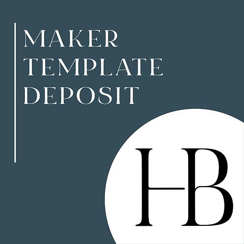 Maker Template Deposit