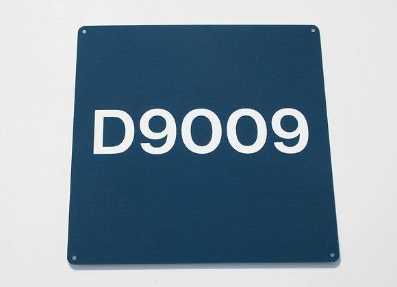 Miniature Number Panel D9009