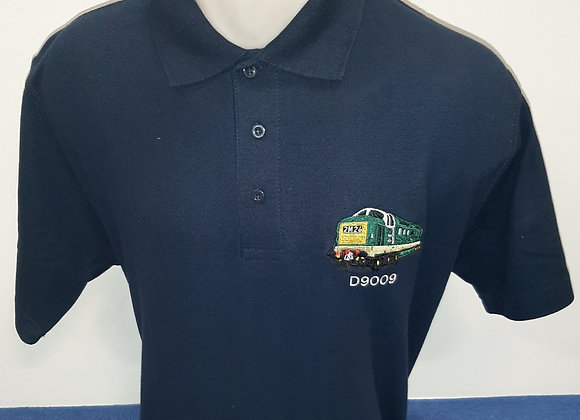 Navy Blue Polo Shirt with D9009