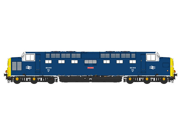 Accurascale Class 55 Deltic 55015 Tulyar in FP livery