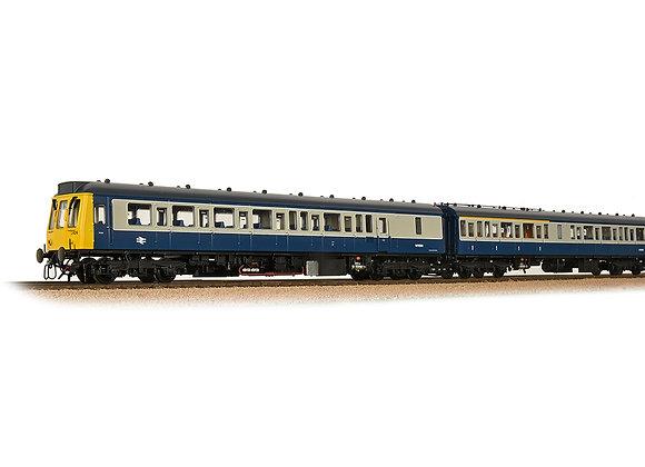 Class 117 3-Car DMU in BR Blue & Grey
