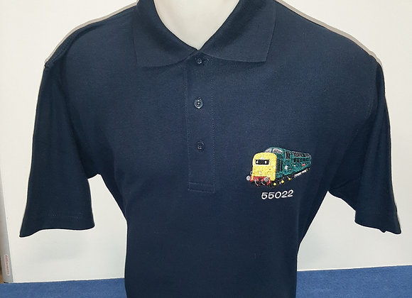 Navy Blue Polo Shirt with 55022