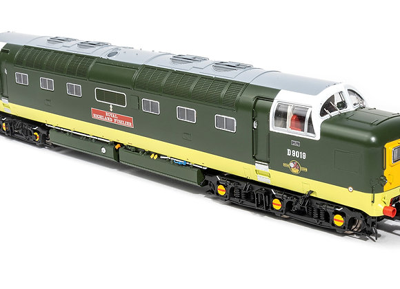 Accurascale Class 55 Deltic D9019 Royal HighlandFusilier Deposit