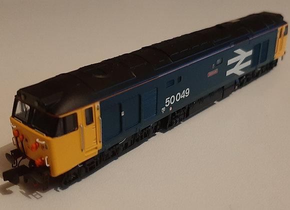 Dapol/Class 50 Fund N-Gauge Class 50 50049