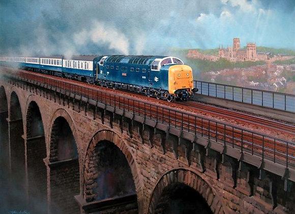 55009 Durham Viaduct Print
