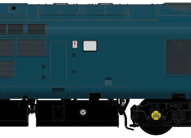 Accurascale Class 37/0 37001in BR Blue Livery