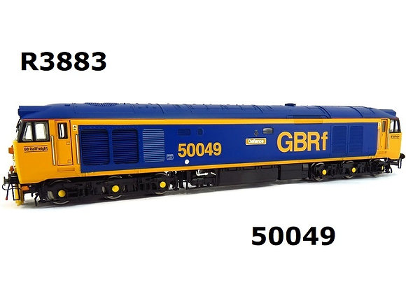 R3883 Hornby Class 50 50049 in GBRf livery
