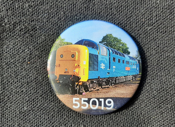 Circular Badge 55019