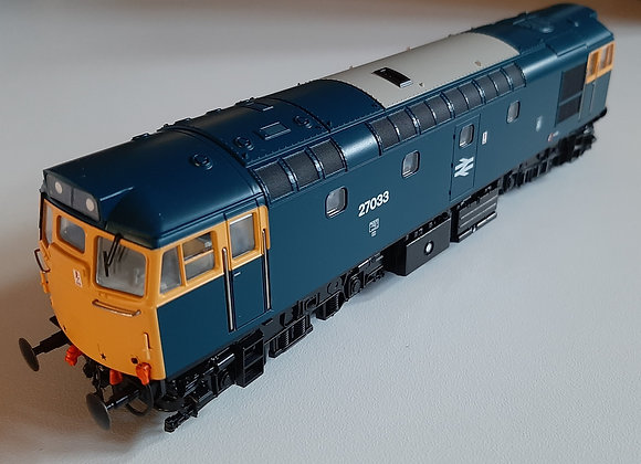 HeljanClass 27 27033 in BR Blue livery
