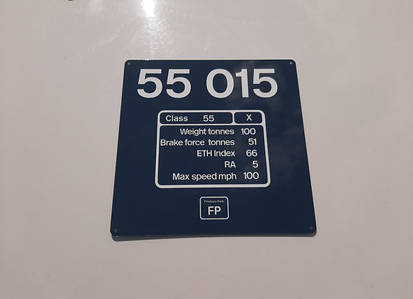 Miniature NumberPanel 55015