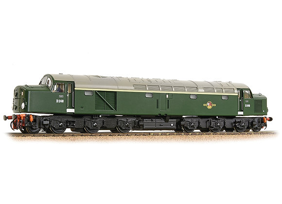 Class 40 D248 BR Green with Late Crest