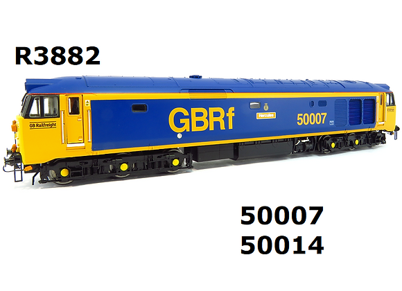R3882 Hornby Class 50 50007in GBRf livery