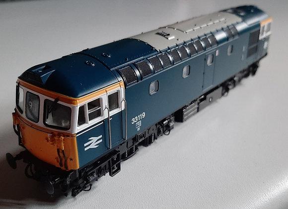 Heljan Class 33 33119