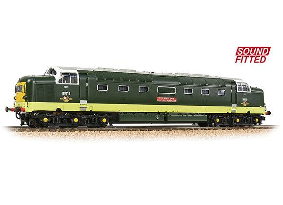 32-529CSF Class 55 Deltic D9010 The Kings Own Scottish Borderer