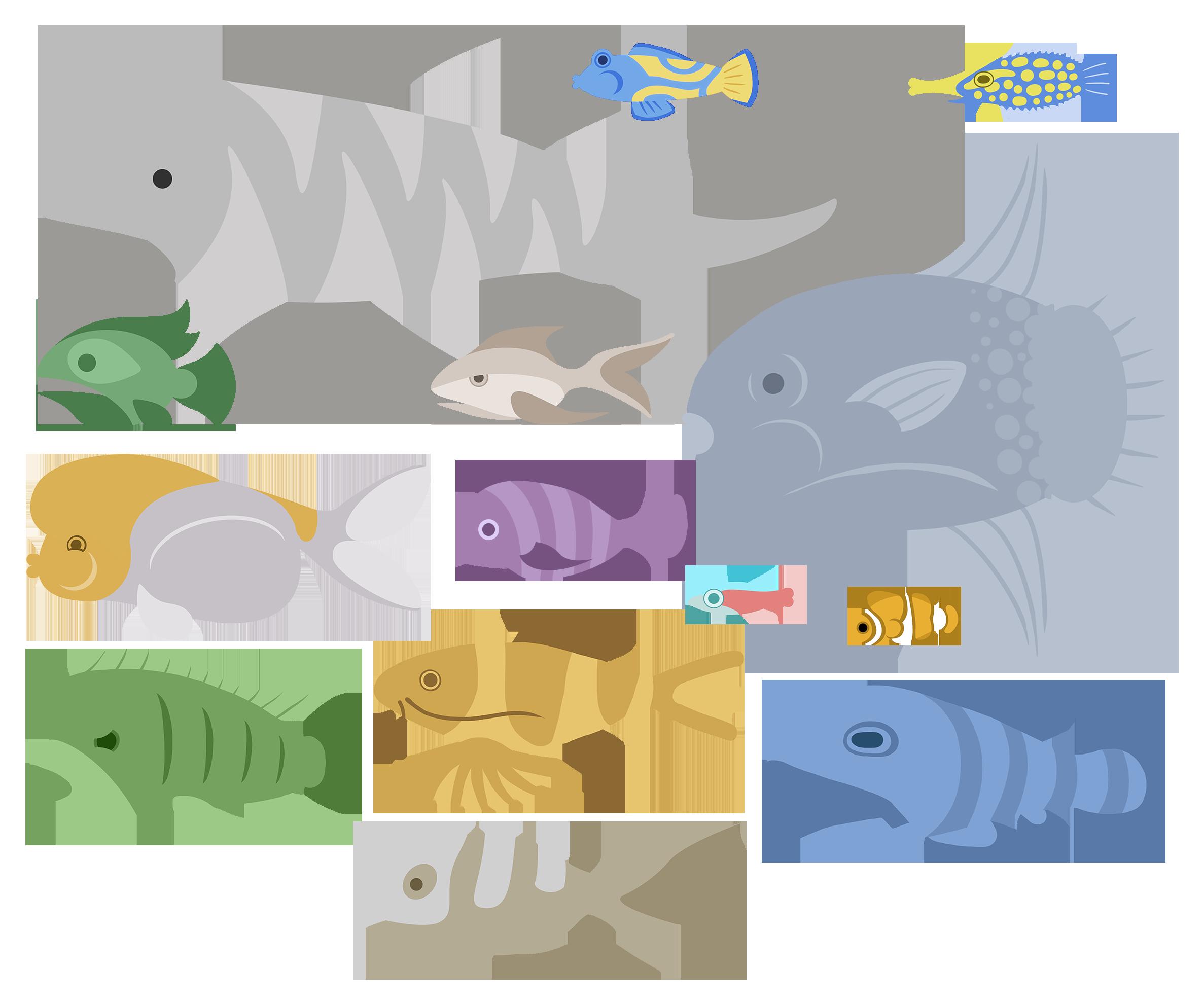CGF Fishes - set 3