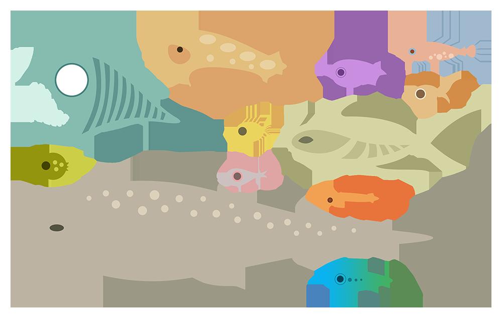 CGF Fishes - set 1