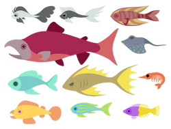 CGF Fishes - set 2