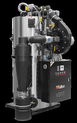 Fulton Vertical Spiral Rib Tubeless Boiler