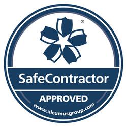 SafeContractor Accreditation Sticker