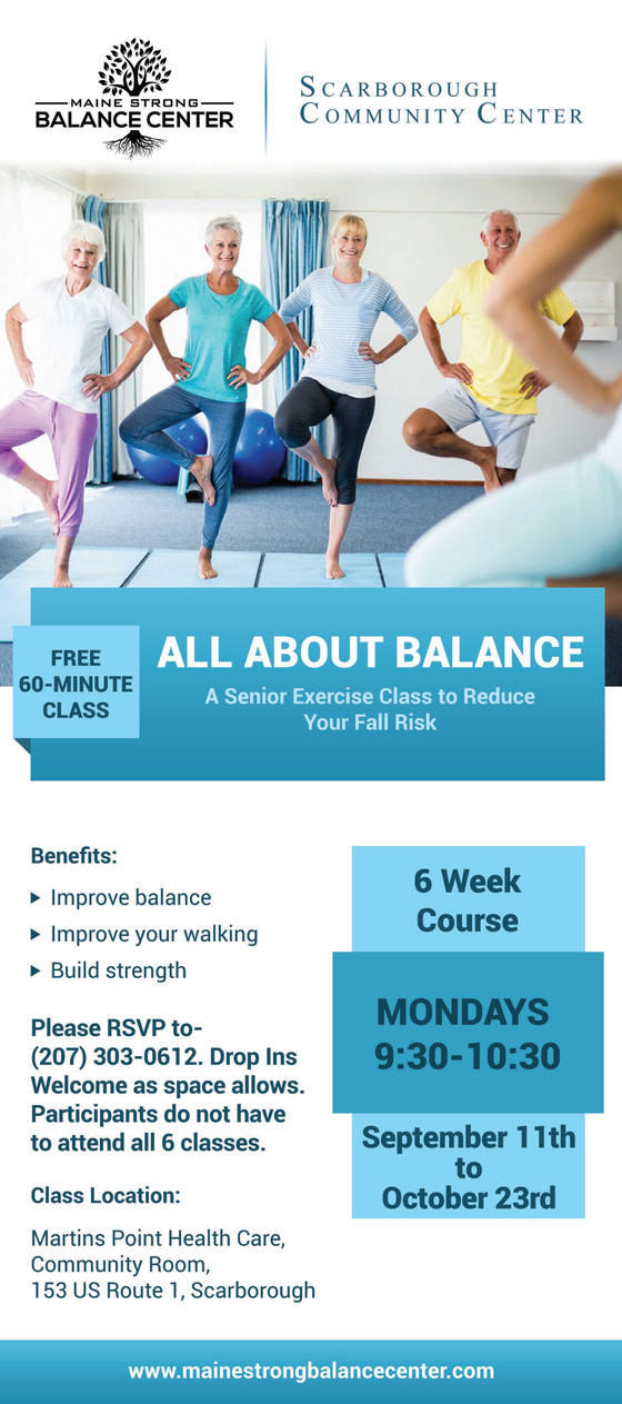 "Free Class: ""All About Balance"""