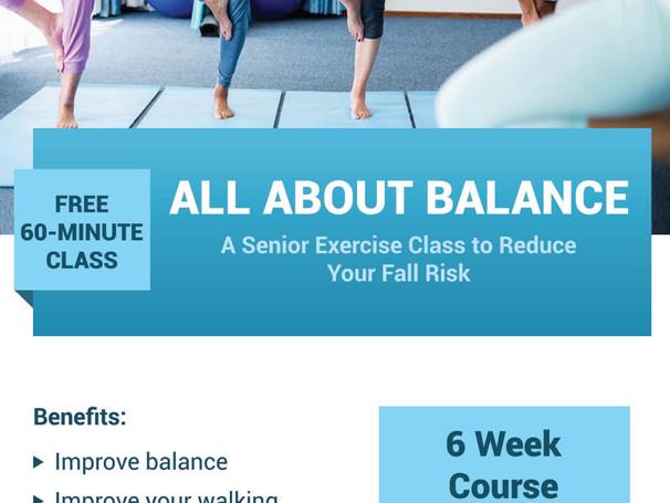 "Free Class: ""All About Balance"""