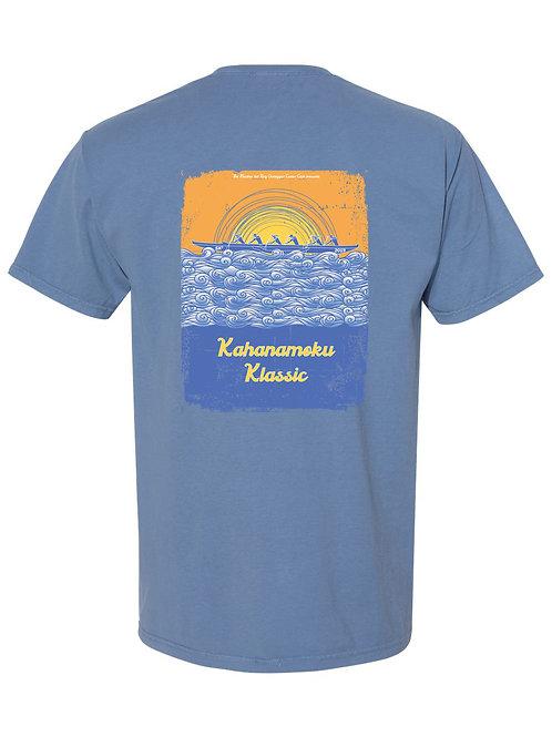 Unisex Short Sleeve Shirt (Blue)
