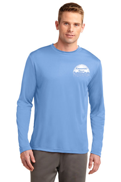 Unisex Long Sleeve Jersey (Carolina Blue)