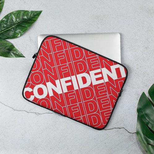 Confident Laptop Sleeve (Red)