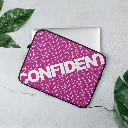 Confident Laptop Sleeve (Pink)