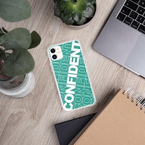Confident iPhone Case (Teal)