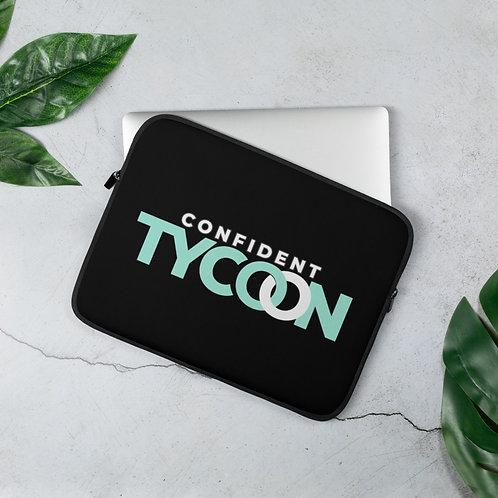 Confident Tycoon Laptop Sleeve