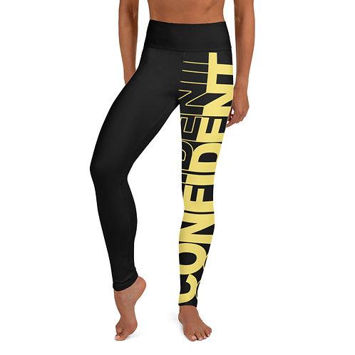 Confident Yoga Leggings (Gold)