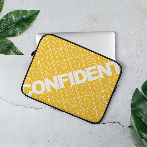 Confident Laptop Sleeve (Yellow)
